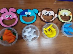 Felt teaching aids to animals . Creative Activities For Kids, Toddler Learning Activities, Autism Activities, Indoor Activities For Kids, Baby Learning, Infant Activities, Crafts For Kids, Cognitive Development Activities, Special Kids