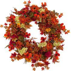 Autumn Embrace Fall Wreath (FW516)
