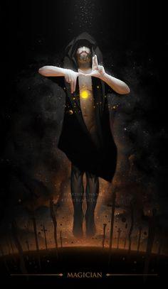Image result for true black tarot images