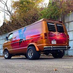 Rat Rods, Lifted Van, Chevrolet Van, Dodge Van, Old School Vans, 4x4, Painted Vans, Vanz, Day Van