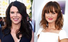 Lauren Graham is celebrating on-screen daughter Alexis Bledel's 35th birthday with some laughs and sass.    Graham honored her Gilmore Girls costar's day of birth on Friday with a picture from the early days of Stars Hollow, where the mother-daughter duo are slyly smiling