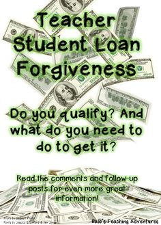 how to get student loans forgiven