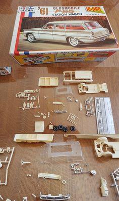 Vintage 2585: Jo-Han 1961 Oldsmobile F85 Station Wagon -> BUY IT NOW ONLY: $65 on eBay!