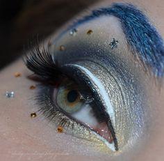Sailor Uranus inspired make up by http://daily-makeup.blogspot.de/2013/03/schminkaktion-sailor-uranus.html