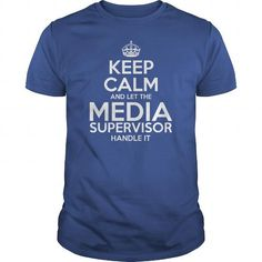 Awesome Tee For Media Supervisor T Shirts, Hoodies. Get it now ==► https://www.sunfrog.com/LifeStyle/Awesome-Tee-For-Media-Supervisor-Royal-Blue-Guys.html?41382