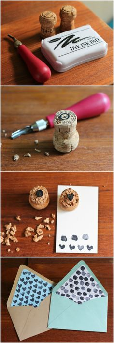 DIY Cork Stamp