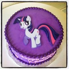 Twilight Sparkle cake by Stuffed Cakes StuffedCakes.com Custom Cakes | Seattle, WA, USA