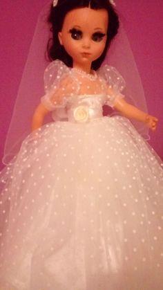 Abito vestito da sposa per bambola Furga Alta moda Susanna Sheila Sylvie Simona