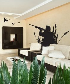 Vinyl Wall Decal Sticker Duck Hunter. Awesome for a man cave!