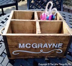 School  Storage Box Organizer