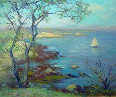A SUMMER SAIL - Marguerite Stuber Pearson