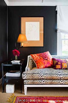 i don't know what it is about this room, but i really like it! maybe a navy wall with other accents.....