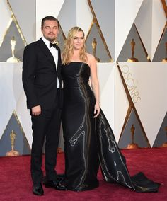 Oscar 2016, E Leonardo DiCaprio festeggia con Kate Winslet - VanityFair.it