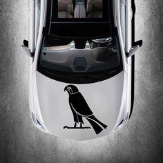 BEAUTIFUL BIRD ANIMAL ART DESIGN HOOD CAR VINYL STICKER DECALS MURALS SV1295