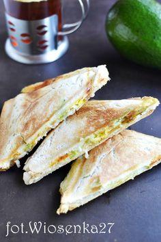 Tosty z jajkiem i awokado Breakfast Recipes, Snack Recipes, Cooking Recipes, Breakfast Ideas, Pasta Lunch, Vegetarian Recipes, Healthy Recipes, School Snacks, Food To Make