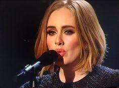 Adele's new do.