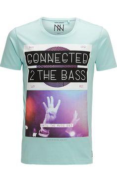 Shirt Blokprint Aqua - The Sting