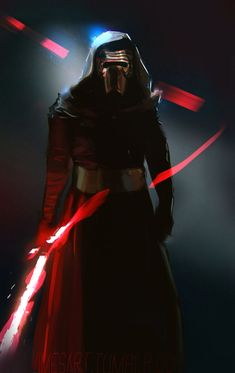 Kylo ren speedpaint :D, about Actually more of a wip but I also thinks it looks good as is so wanted to post anyway. Star Wars Vii, Star Wars Kylo Ren, Luke Skywalker, Chewbacca, Starwars, Matt The Radar Technician, Knights Of Ren, Images Star Wars, Jedi Sith
