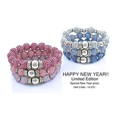 New Year is coming up!  Special price on Crystal Ball Bracelets. Order on www.lachance-uk.com/NEW-YEAR-SPECIAL