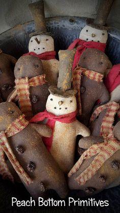ePatternPrimitive Christmas Winter by PrimsbyDenise on Etsy