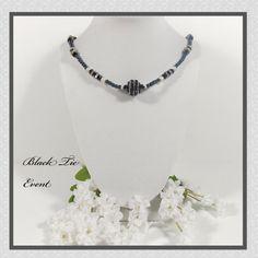 Pearl Necklace Set Swarovski Necklace Set Black by loviebeebaubles, $55.00
