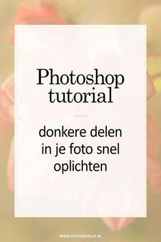 tutorial - doordrukken en tegenhouden in Photoshop - Fotografille Photoshop Tutorial, Photoshop Design, Photoshop Elements, Photoshop Actions, Adobe Photoshop, Lightroom, Photoshop Effects, Photoshop For Photographers, Photoshop Photography
