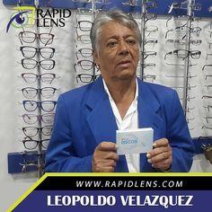 Prof Leopoldo Velazquez ....de maravilla con mis nuevos #lentesdecontactoblandos #Discon #ClienteFeliz #MejoresPrecios #OpticaRapidLens #CCSabanaGrande 0212-762.0083 Rapid Lens CA. www.rapidlens.com