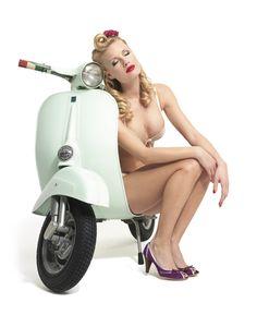 #Woman and #scooter #eatsleepride app.eatsleepride.com