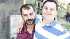 Yönetmen Caner Erzincan ve filmin başrol oyuncularından, kardeşi Soner Erzincan...