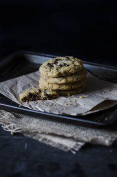 Chocolate chop cookies Creativity, Cookies, Chocolate, Crack Crackers, Biscuits, Chocolates, Cookie Recipes, Brown, Cookie