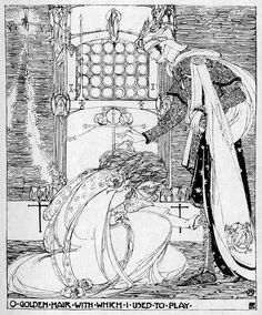 Jessie M King - Guinevere - Published 1903