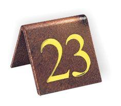 Set Di 10 Numeri Del Tavolo Effetto Legno Classici 41 50 Con Stampa Oro .  Perfetto Per Bar, Ristoranti, Caffè E Alberghi: Amazon.it: Fai Da Te