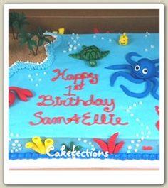Under the Sea Sheet Cake