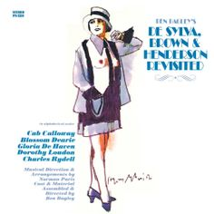 Harvey Schmidt 1972 Ben Bagley's De Sylva, Brown & Henderson Revisited [Painted Smiles PS-1351] #albumcover #fashion