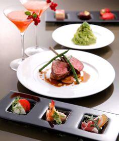 BVLGARI IL CAFE(ブルガリ イル・カフェ) 4800円のプリフィクスディナー コース料理・写真大