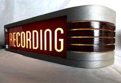 RECORDING Warning Light - Metallic   Reverb