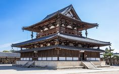 Japan Architecture, Chinese Architecture, Architecture Design, Gothic Architecture, Japanese Buildings, Japanese House, Japanese Temple, Japanese School, Roof Design