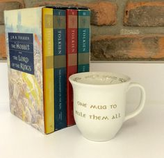 One Mug to Rule Them All LOTR Inspired Coffee Mug by KnotKnirvana