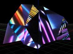 Paul Friedlander, kinetic light art
