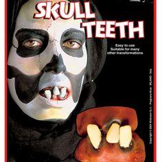 Dentier Skull #dentiersdéguisements #accessoiresdéguisements #accessoiresphotocall