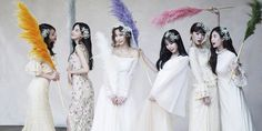 Former & current After School members doll up for Jung Ah's gorgeous wedding photos! After School, Wedding Photos, Marriage Pictures, Wedding Photography, Wedding Pictures