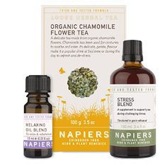 Herbal Stress Reduction Package - Chamomile Flower Tea - http://supplementreviewshq.com/herbal-stress-chamomile-flower-tea