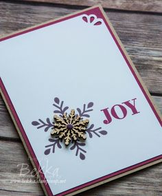 Holly Jolly Greetings Christmas Card - Make In A Moment