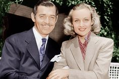 Clark Gable and Carole Lombard                                                                                                                                                                                 More