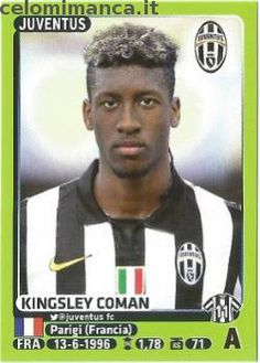 Calciatori 2014-2015: Fronte Figurina n. 254 Kingsley Coman