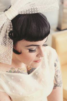 Polka Dots, Ice Cream & Rockabilly Babes · Rock n Roll Bride Estilo Pin Up, Estilo Rock, Rockabilly Wedding, Rockabilly Fashion, Rockabilly Style, Sophia Loren, Brigitte Bardot, Wedding Trends, Wedding Styles