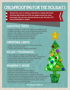 4 Ways to Childproof Your Home for the Holidays by www.thesoftlanding.com