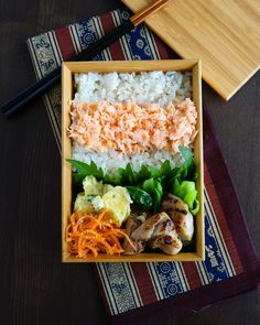 Japanese Grilled Chicken Bento Lunch Box 塩麹焼き鳥弁当