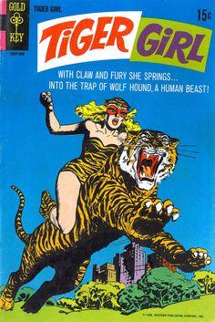 Tiger Girl n°1, 1968. Artist unknown?