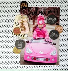 Fabulous by MarthaBonneau created using February Journal Entry Kits Happy Day, Are You Happy, February Journal, Cocoa, Paper Supplies, Studio Calico, Journal Entries, View Image, Hello Kitty
